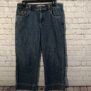 Tommy Hilfiger Womens Cropped Sz 6 Comfy Jeans